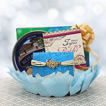 Decorated Rakhi Hamper