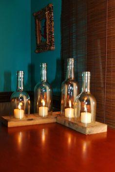 Wine bottle ideas: