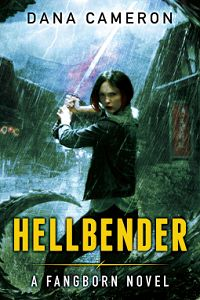 Review: 3 Stars for Hellbender by Dana Cameron. onebooktwo.com
