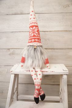 Scandinavian gnome Nordic gnome nordic nisse by thelittlegreenbean