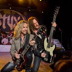 STYX rocked the Wild Adventures stage on June Tommy Shaw, Damn Yankees, Progressive Rock, Musical Instruments, Rock Bands, Rock N Roll, All Star, Musicals, Concerts