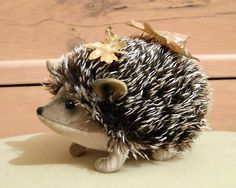 Don't know what it is about hedgehogs. There is a free photo tutorial here to make this little guy.