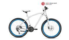 BMW Cruise Bike 2014, Weiß-Blau - Bikes