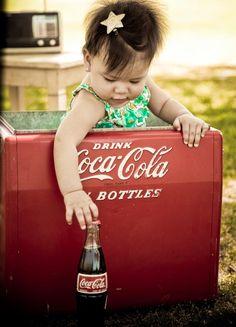 little girl wants a Coke