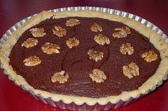 Chocolate Walnut Pie, ein sehr leckeres Rezept aus der Kategorie Kuchen. Bewertungen: 6. Durchschnitt: Ø 3,6.