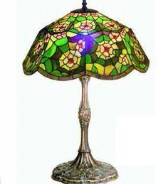 Lámparas Tiffany : Sobremesa Tiffany Floral $386,250.00 dollars