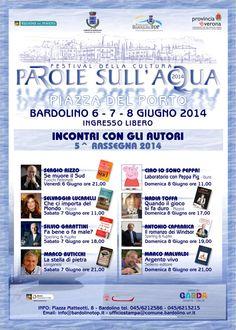 Bardolino: 5° Parole sull'Acqua 2014 @GardaConcierge