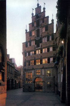 Die Böttcherstraße in Bremen. Roselius-Haus.   From Germany (Deutschland), Bremen (09.2013)