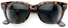 Tortoise shell Ray Ban.  These were the best sun glasses!  Everyone had to have a pair.