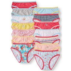 Wonder Nation Girls 100% Cotton Bikini Panty 027add530