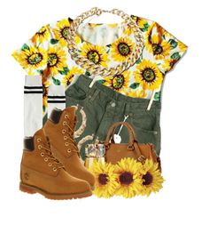 """""""I'm So Fancy"""" by nenedopesauce ❤ liked on Polyvore featuring Levi's, ASOS, Lauren Ralph Lauren, Noisy May, Thierry Mugler and Timberland"""