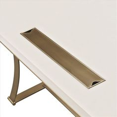 Victor desk, design by Promemoria., made in Italy. Metal Furniture, Dining Furniture, Modern Furniture, Joinery Details, Furniture Collection, Contemporary Interior, Entryway Tables, Table Decorations, Desks