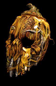 2013 Mushroomhead pumpkin mask by JPattonFX.deviantart.com on @deviantART