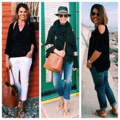 what I wore seaside: outfit ideas