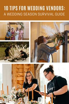 A seasoned wedding florist's top 10 tips and products to help survive a busy wedding set-up day, and ultimately, wedding season! Wedding Set Up, Wedding Season, Wedding Flowers, Budget Wedding, Wedding Vendors, Eating Bananas, Industrial Wedding, Survival Guide, Seasons