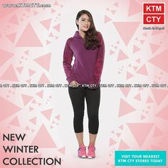 Get the New Winter Collection available at KTM CTY stores!  #fashion #style #stylish #love #me #cute #photooftheday #nails #hair #beauty #beautiful #instagood #instafashion #pretty #girly #pink #girl #girls #eyes #model #dress #skirt #shoes #heels #styles #outfit #purse #jewelry #shopping