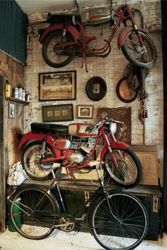 Old Motorcycles & Bicycles