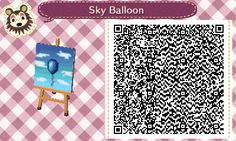 animalcrossing-nl-qrcodes: The balloon in the... - Animal Crossing