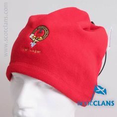 Logan Clan Crest Embroidered Snood. Free worldwide shipping available.
