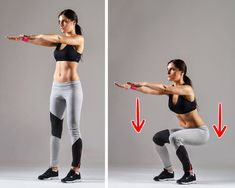 10 Exercises to Obtain a Thigh Gap That Will Only Take 10 Minutes a Day - Page 2 of 12 - Inspiral Viral Health And Fitness Expo, Fitness Workout For Women, Leg Lifts, Thigh Exercises, Injury Prevention, Easy Workouts, Glutes, Workout Videos, Workout Exercises