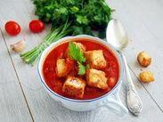 Томатный суп с фасалью