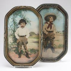 Framed Vintage Photographs of Children