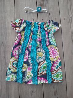 Cute Baby Girl Ruffle Dresses by CountryGirlsStitchin on Etsy