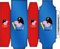 Caixa Sabonete George Pig Pirata (Peppa Pig):