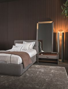 Electric bed base by Flou