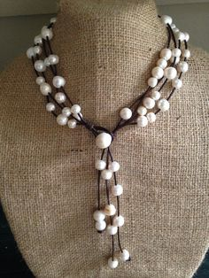 Versatile 4 Strand Freshwater Baroque Pearl by ChristianOPearls