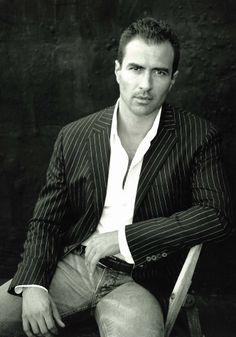 Miguel Duarte, model with L'Agence (I'm guessing that he's from Portugal)