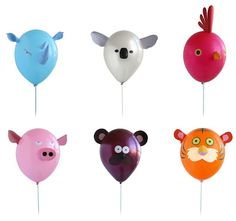 MargotMadison: Animal Balloons