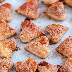 Świąteczne ciasteczka francuskie | Przepisy kulinarne ze zdjęciami