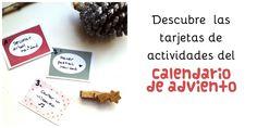 Ideas para hacer un calendario de adviento con actividades #julieandjane