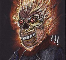 Ghost Rider by MagsWilliamson