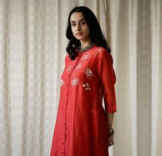 Dresses With Sleeves, Kurtis, Long Sleeve, Fashion, Moda, Sleeve Dresses, Long Dress Patterns, Fashion Styles, Gowns With Sleeves