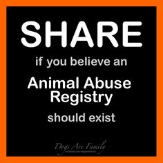 & animal registry so no innocent creatures fall between th cracks! Sign…
