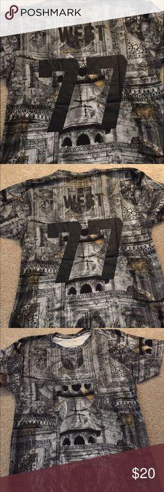 Kaye west eleven Paris life is a joke shirt sz l Worn one time life is a joke eleven Paris sz m Kanye west shirt so cool no flaws Eleven Paris Shirts Tees - Short Sleeve