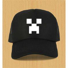 Minecraft Men Fashion Baseball Hat - 23 - Blue Products- - TopBuy.com.au