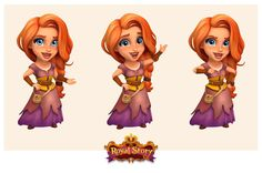 Royal Story, FunPlus Game on ArtStation at https://www.artstation.com/artwork/YOYRV