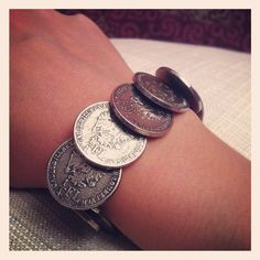 DIY Coin Bracelet