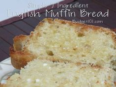 Never Made your Own Bread? Check out this Super simple 5 ingredient No Fail English Muffin Loaf- the best toasting bread ever!