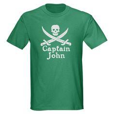 Captain John Dark T-Shirt