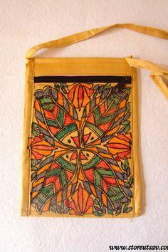 Sling Bag Cotton Cloth handmade Indian by StoreUtsavFashion