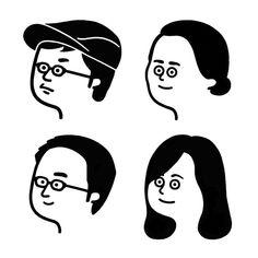 by Seiji Matsumoto Japanese Illustration, People Illustration, Graphic Illustration, Character Drawing, Character Illustration, Character Design, Japan Graphic Design, Graphic Art, Simple Line Drawings