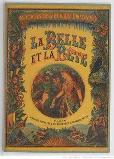 La belle et la bête / conte illustré de six gravures coloriées Leprince de Beaumont, Jeanne-Marie (1711-1780). Auteur du texte  L. Hachette (Paris),1870