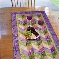Napa Balis Runner from The Quilter Magazine