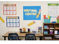 Learning Center ideas from The Dollar Tree
