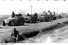 JUN  7 1941 German forces mass in the east of Poland. Because of unusually heavy military traffic, all civilian movement was halted for several hours. You can see many different types of troops. ... The situation is the same as during a war when large fighting units begin to move.