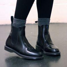 Dr. Martens Shoes - Dr. Martens Flora Chelsea Boots